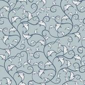 листья текстуры — Cтоковый вектор