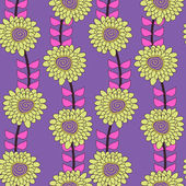 花卉纹理 — 图库矢量图片