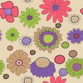 Texture floral — Vecteur