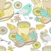 Natural tea — Stock Vector