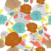 Textura de rosas — Vetorial Stock