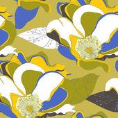 çiçek doku — Stok Vektör