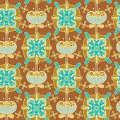 цветочная текстура — Cтоковый вектор