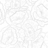 Floral textuur — Stockvector