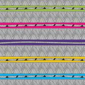 Heldere zigzag — Stockvector