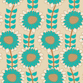 Floral texture — Stock Vector