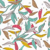 Bright leafs — Stock Vector
