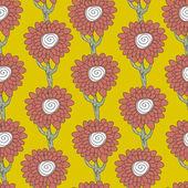 árvores florais — Vetorial Stock