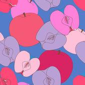 Pommes — Vecteur