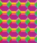 Fondo multicolor transparente — Vector de stock