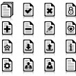 File management and administration icons — Stock Vector #13720285