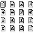 Stock Vector: File management and administration icons