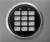 Combination lock — Stock Vector