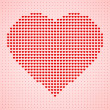 Valentine's day heart — Stock Vector