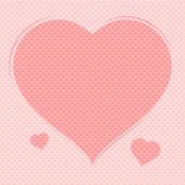 Valentinky den pohlednice — Stock vektor