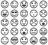 Smiley icons — Stock Vector