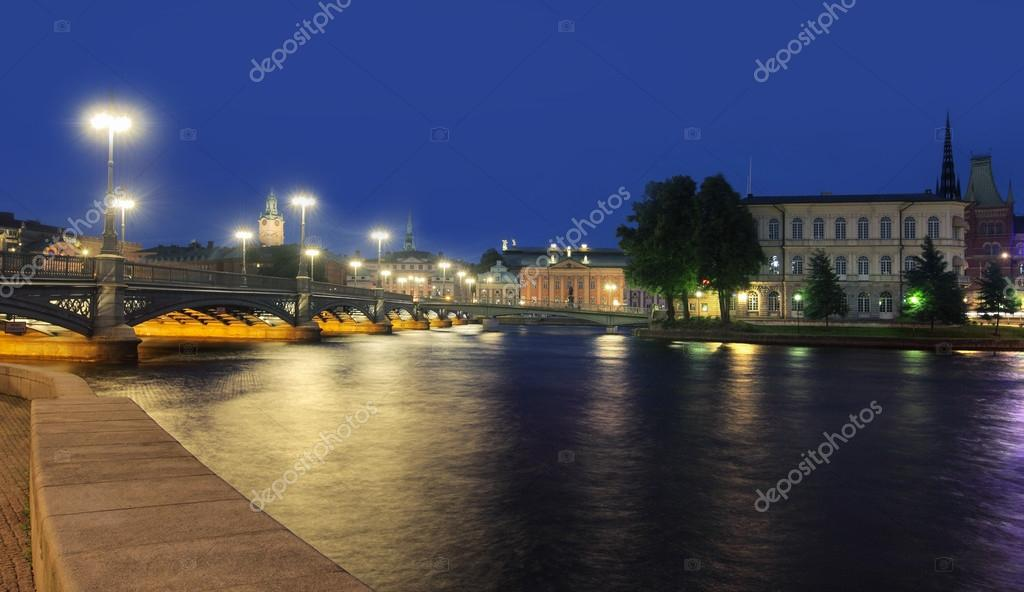 Stockholm Cityscape — Stock Photo #12130371