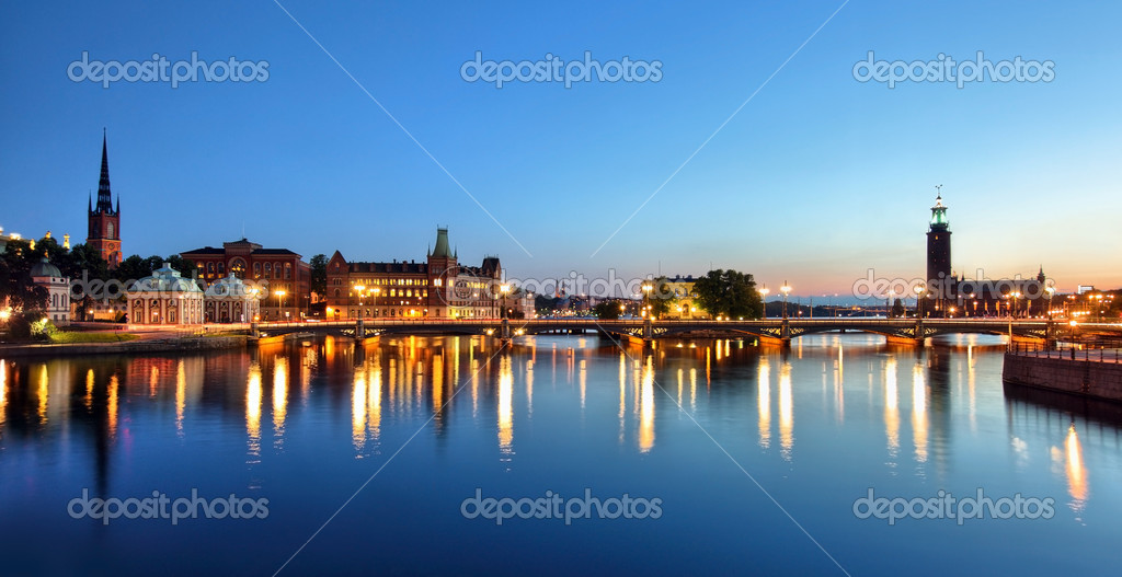 Stockholm Cityscape — Stock Photo #12251834