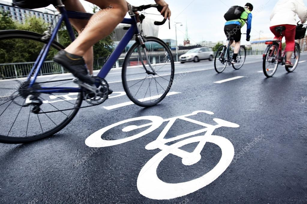 Bike lane — Stock Photo #12399471