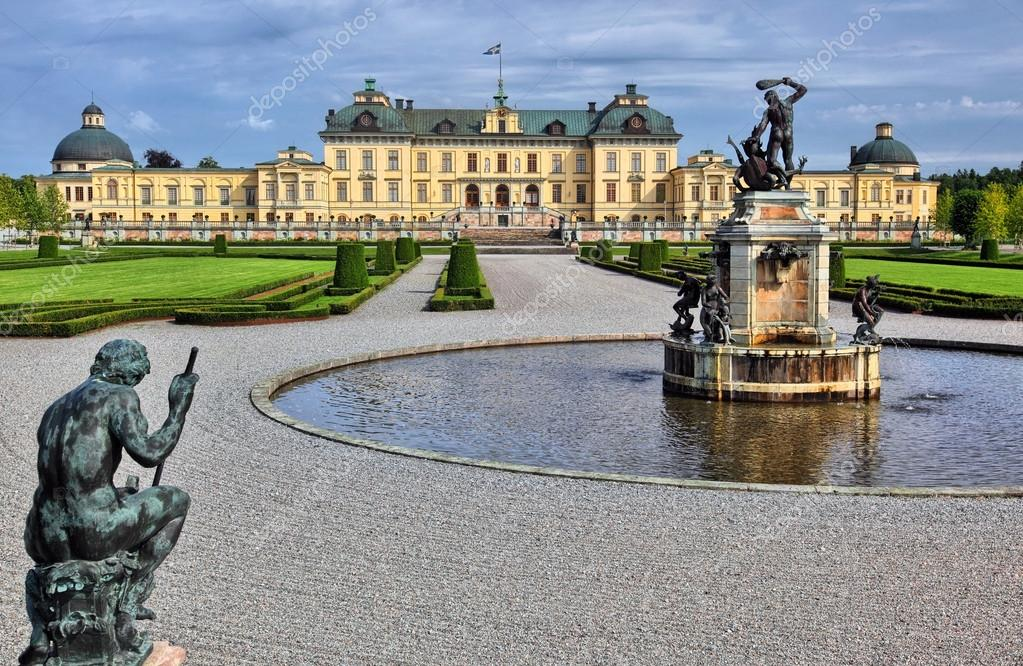 Drottningholm castle — Stock Photo #12591894