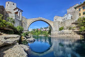 The Old Bridge, Mostar — Stock Photo