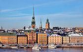 Stadt Stockholm, Schweden — Stockfoto