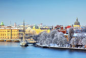 Stockholm City, Sweden — Stock Photo
