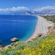 Stock Photo: Konyaalti beach, Antalya