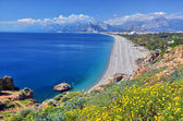 Konyaalti beach, Antalya — Stock Photo