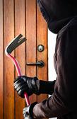 The Burglar — Stock Photo