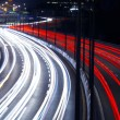 Stock Photo: Light Trails