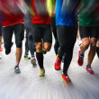Marathon runners — Stock Photo #33466527