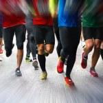 Marathon runners — Stock Photo #33466527