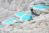 Travertine pools — Foto Stock