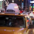 Times Square in New York City at Night — Stock Video