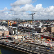 Building activity in central Stockholm — Foto de Stock