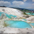 Travertine pools — Stock Photo