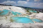 Travertine pools — Stock Photo