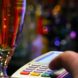 Stockfoto: Paying Drink With Credit Card