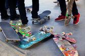 Old Skateboards — Stock Photo