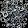 Lot of Hex Nuts — Stockfoto #12158713