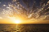 Beautiful sunrise over the sea. — Stock Photo