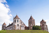 Castle in the town of Mir. Belarus. — Stock Photo