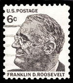 Franklin D Roosevelt 37th US President — Stock Photo