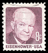 Dwight Eisenhower 34th US President — Stock Photo