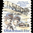 Stock Photo: USA-CIRC1978: 31 cent United States Airmail postage stamp, s