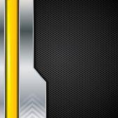 Abstract metallic brochure background, vector — Stock Vector