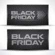 Stock Vector: Trendy Black Friday card