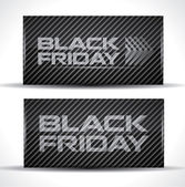 Trendy Black Friday card — Stock Vector