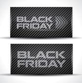 Trendy Black Friday card — Stock Vector